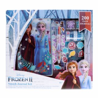 Disney Frozen 2 Girls Smash Journal Kit 200 Page Diary