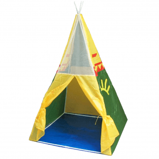 Parris Kids Play Hut Eagle Sunrise Tepee Water Resistant