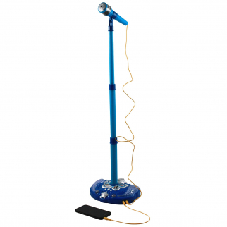 Super Star Kids Karaoke Stand - Blue