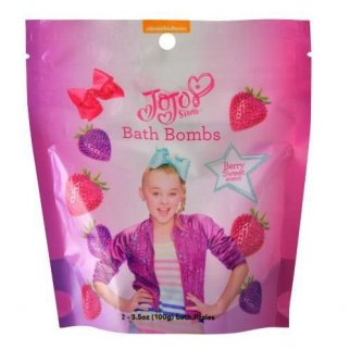 JoJo Siwa Bath Bombs Berry Sweet Scent 2 Pack (3.5 oz each)