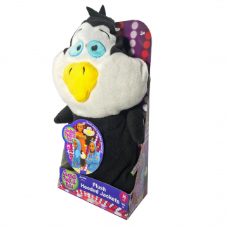 KidPlay Jacket Pack It Pets Penguin Plush Hooded Jacket