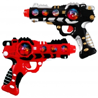 Light Up Flashing Space Gun