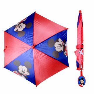 Mickey Mouse Kids Umbrella With Clamshell Handle
