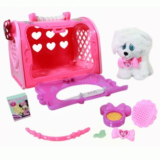 Disney Minnie Mouse Happy Helpers Pet Carrier Toy Set 8pc
