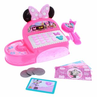 Disney Minnie Mouse Happy Helpers Kids Pretend Cash Register