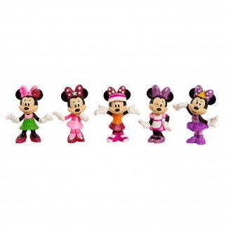 Minnie Mouse Collectible Toy Figure 5 Piece Set
