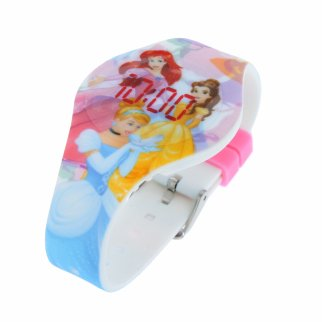 Disney Princess Digital Touch LED Wrist Watch for Kids