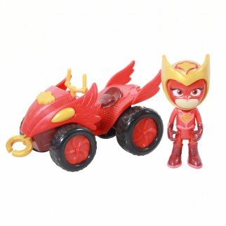 PJ Masks Collectible Mystery Mountain Quad Owlette Toy Car