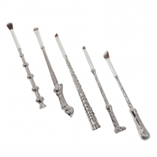 5pc Wizard Style Magic Wand Make Up Brushes