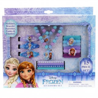 Frozen 15 PC Pretend Play Jewelry Accessory Set
