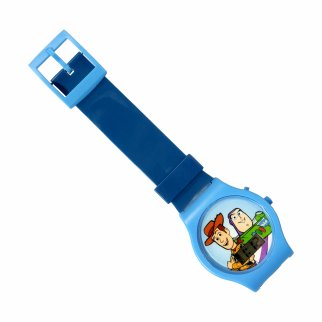 Disney Pixar Toy Story 4 LCD Digital Wrist Watch Timer Blue