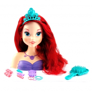 Ariel The Little Mermaid Disney Gift Set Styling Head for Girls