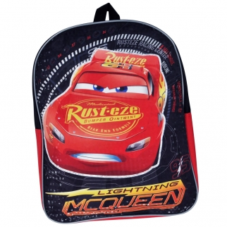 Cars 3 Backpack 15 Inches Tall Featuring Lightning McQueen