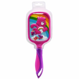 Care Bears Girls Detangling Paddle Hair Brush Cheer Bear