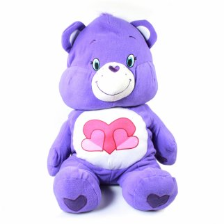 "Care Bears Harmony Bear 24"" Pillow Sized Fluffy Plush"