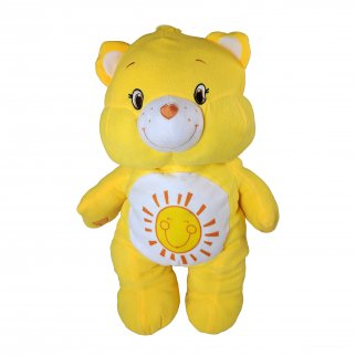 "Care Bears Funshine Bear Large 24"" Pillow Plush Fluffy Stuffed Animal"