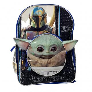 Disney Star Wars Mandalorian Baby Yoda Kids Backpack 2pc Set