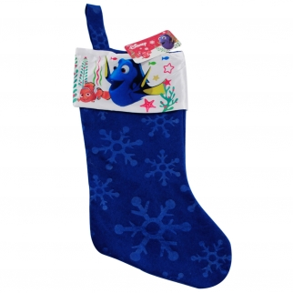 Blue Finding Dory Xmas Decor Kids Stocking
