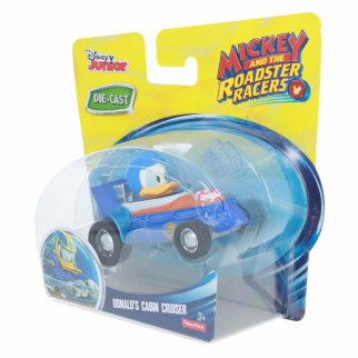 Disney Donald Duck Roadster Racer Die-cast Cabin Cruiser