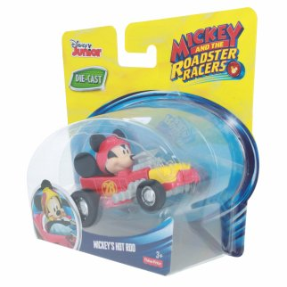 Disney Mickey Mouse Roadster Racer Die-cast Figure Hot Rod