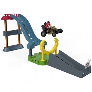 Mickey And The Roadster Racers Sky-High Stunt Jump Playset