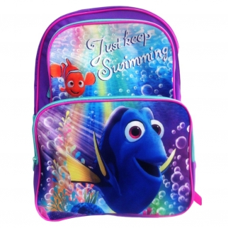 "Finding Dory 16"" Cargo Backpack Just Keep Swimming"