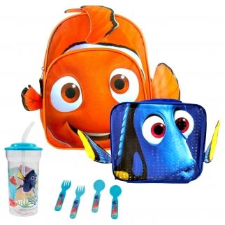 Finding Dory Nemo Backpack Lunch Bundle