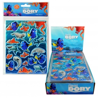 2pk Disney Pixar Finding Dory Kids Puffy Stickers for Arts & Crafts