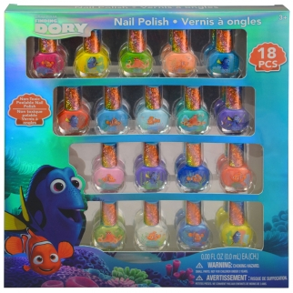 Finding Dory Dress-up 18 Piece Nail Polish Gift Set