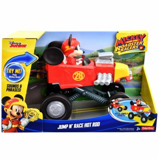 Disney Mickey and the Roadster Racers Jump N' Race Car Toy
