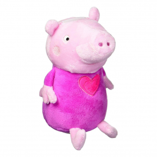 Peppa Pig Pink Plush Coin Bank Kids Piggy Bank Soft Bedroom Home Decor
