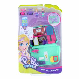Pocket World Mini Mall Escape Shopping Compact Toy