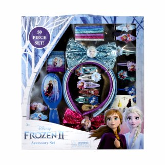 Disney Frozen 2 Kids Hair Accessory Box Set with Headbands