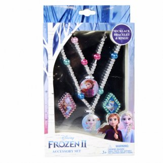 Frozen 2 Jewelry Set With Bracelet Necklace and Rings