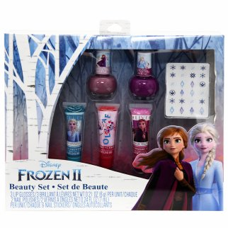 Disney Frozen 2 Girls Beauty Gift Set Nail Polish Lip Gloss