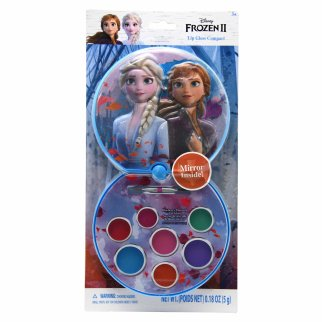 Disney Frozen 2 Girls Lip Gloss Compact with Slideout Mirror