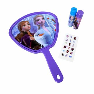 Frozen 2 Hand Mirror With Flavored Lip Balm And Stickers Set