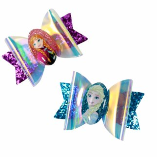 Disney Frozen 2 Girls Hair Bow Clips Kids Accessories 2pc