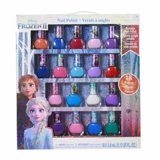 Disney Frozen 2 Girls Deluxe Nail Polish Gift Set 18 Pieces