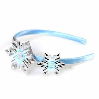 Frozen 2 Elsa Snow Queen LIGHT UP Tiara Headband Girls Dress Up Disney Princess Costume Set