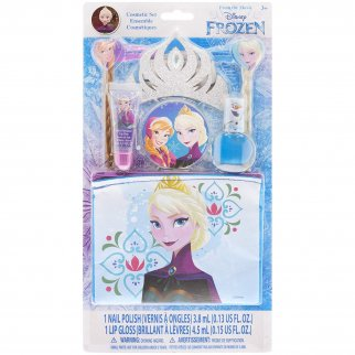 Disney Frozen Tiara Cosmetic Set Kit with Carrying Bag