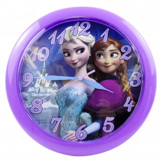 Disney Frozen Girls Home Decor Wall Clock 10 Inch Diameter