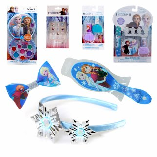 Disney Frozen 2 Girls Easter Gift Set Dress Up 7 Pieces