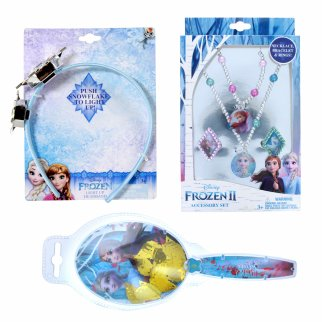 Disney Frozen 2 Girls Dress Up Jewelry Gift Set 6pc