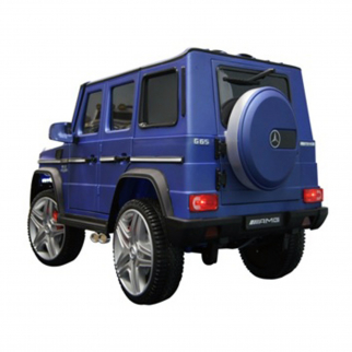 KidPlay Licensed Kids Ride On Car Mercedes G65 12V Battery Powered Vehicle Blue