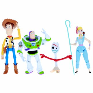 Limited Edition Toy Story 4 Action Figure Complete Character Set in Box