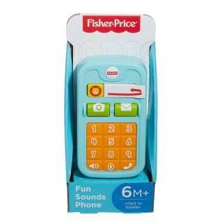 Fisher Price Fun Sounds Keypad Cell Phone Learning Resources