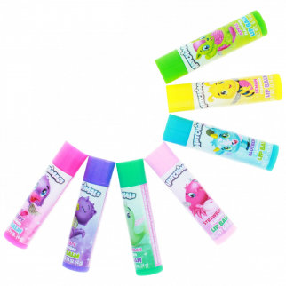 Hatchimals 7-Pack Fruit Flavored Lip Balms
