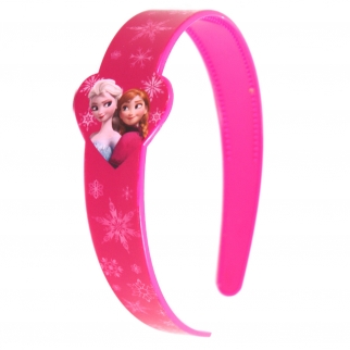 Pretty in Pink Disney Frozen Anna and Elsa Headband