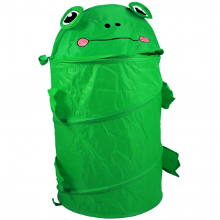 KidPlay Pop Up Kids Frog Toy Storage Bin